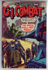 G.I. Combat #135 (May-69) FN/VF Mid-High-Grade The Haunted Tank