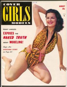 Cover Girls Models #11 8/1952-Peggy Lawless-cheesecake-June McCall-VF-