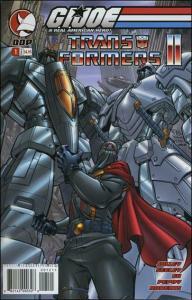 G.I. Joe vs. The Transformers (Vol. 2) #1B VF/NM; Devil's Due | save on shipping