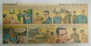Superman Sunday Page #1042 by Wayne Boring from 10/18/1959 Third Full Page Size