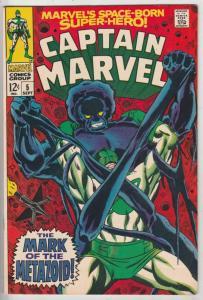 Captain Marvel #5 (Sep-68) NM Super-High-Grade Captain Marvel