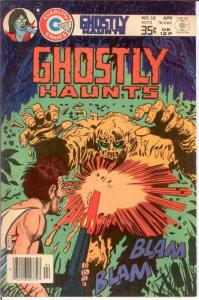 GHOSTLY HAUNTS (1971-1978) 58 (4/78) VF Last issue COMICS BOOK