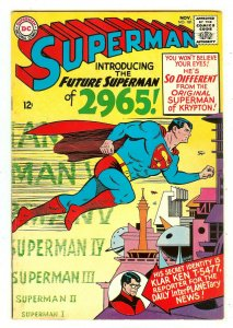 Superman 181   1st 2965 Story/Series