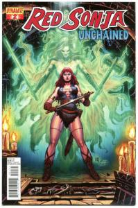 RED SONJA Unchained #2, NM-, Robert E Howard, 2013, more RS in store