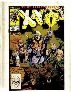 11 Uncanny X-Men Comic Books # 252 261 262 264 265 269 271 273 274 276 277 HY5