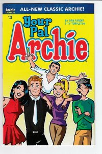 ALL NEW CLASSIC ARCHIE YOUR PAL ARCHIE (2017 ARCHIE) #3 NM