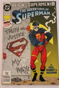 Adventures of Superman 501 FN/VF