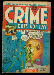 Crime Does Not Pay #67 GD 2.0