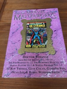 Marvel Masterworks 130 Doctor Strange Variant HC Brand New In Wrap