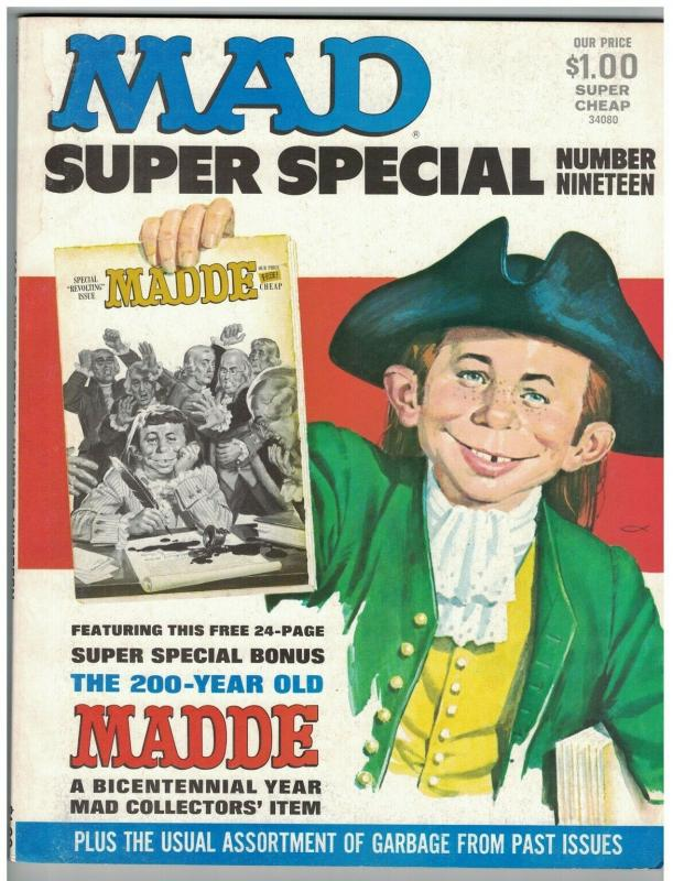 MAD SPECIAL (1976) 19 VG 200 YR OLD MADDE BOOK