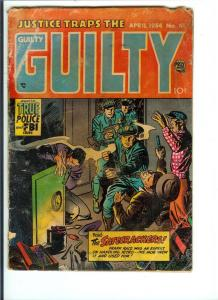 Justice Traps the Guilty #61 - Golden Age (Good) April 1954