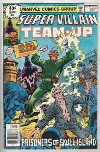 Super-Villain Team-Up #16 (May-79) NM- High-Grade Hate Monger, Red Skull