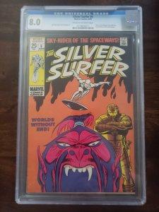 Silver Surfer 6 CGC 8.0