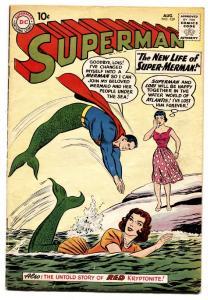 SUPERMAN #139 comic book 1960-DC COMICS-MERMAIDS-RED KRYPTONITE