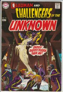 Challengers of the Unknown #74 (Jul-70) VF/NM High-Grade Challengers of the U...
