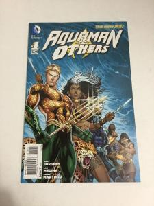 Aquaman And The Others 1 Dan Jurgens Variant Nm Near Mint DC Comics