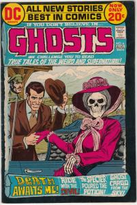Ghosts #6 (Aug-72) VF/NM High-Grade