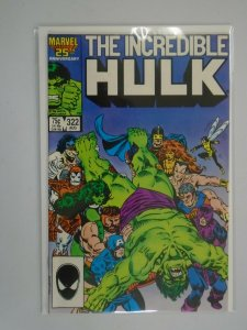 Incredible Hulk #322 Direct edition 8.0 VF (1986 1st Series)