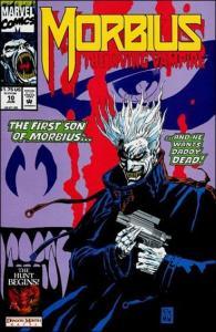 Marvel MORBIUS: THE LIVING VAMPIRE (1992 Series) #10 NM