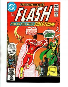 The Flash #293 - Atomic Skull - Firestorm - 1981 - VF+