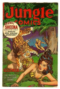 Jungle Comics 158   Fiction House