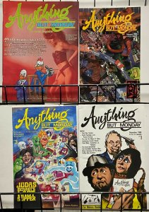 ANYTHING BUT MONDAY #1-3 (comic size) PLUS Magazine size premiere issue! VF-NM