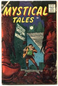 Mystical Tales #5 1957- Atlas horror- Al Williamson VG