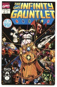 Infinity Gauntlet #1 Marvel comics Thanos - First issue NM-