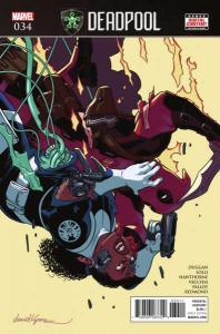 Deadpool (2016 series) #34, NM (Stock photo)