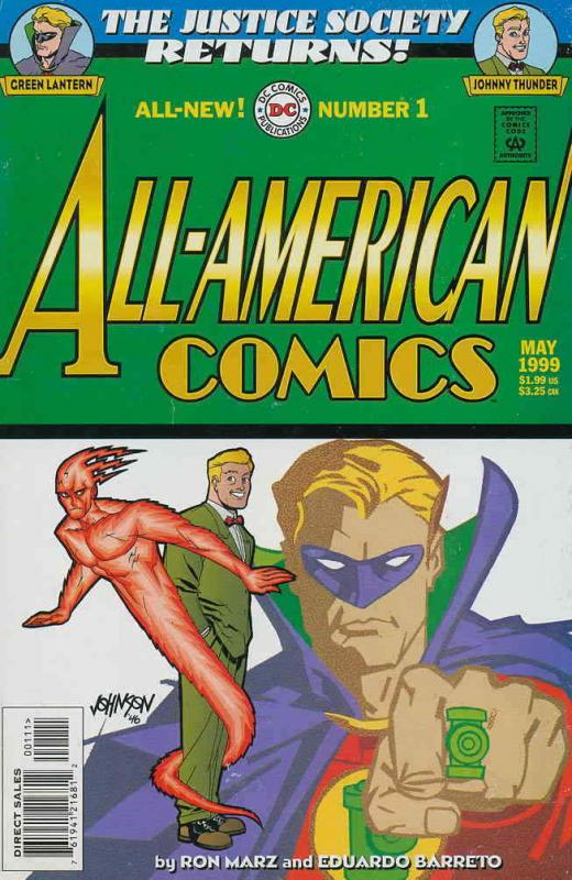 All-American Comics (2nd Series) #1 VF; DC | save on shipping - details inside