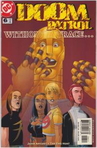 Doom Patrol #6 (3rd Series) 9.4 NM