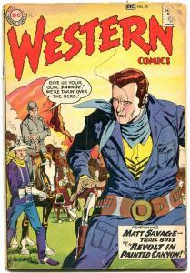 Western Comics #78 1959- Matt Savage- Pow Wow Smith G-