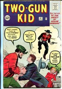Two-Gun Kid #62 1963-Marvel-Jack Kirby-VG