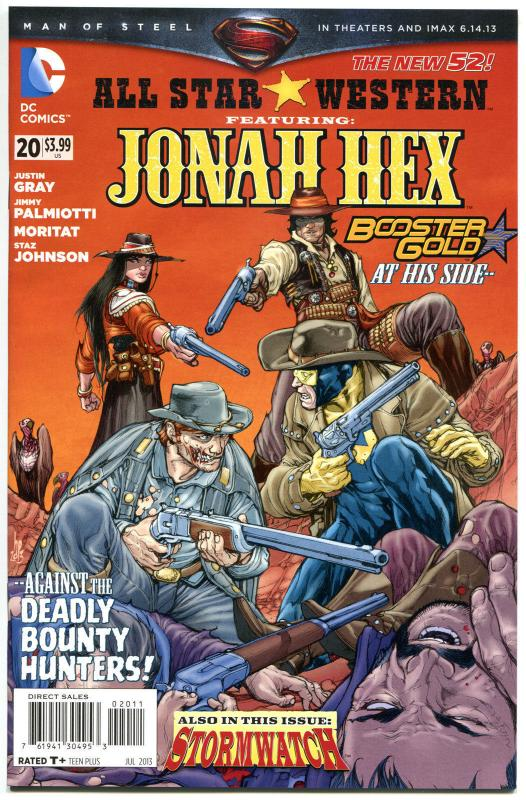 ALL STAR WESTERN #20, NM, Jonah Hex, Booster Gold, StormWatch,2011,more in store