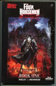 FOUR HORSEMEN of the APOCALYPSE, NM, Signed by Simon Bisley, HC, GN, 1st, 2011