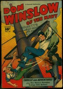 Don Winslow of the Navy #62 1948- Fawcett golden age war comic G