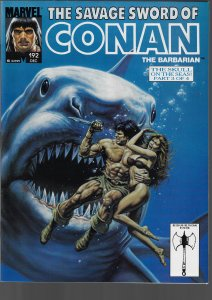 Savage Sword of Conan #192 (Marvel, 1991)