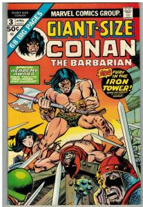 CONAN THE BARBARIAN GS  3 FN April 1975