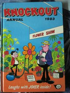 KNOCKOUT - Lot of 7 British Annuals  from 1973-1985