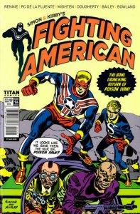 Fighting American (Titan, 2nd Series) #4B VF; Titan | save on shipping - details