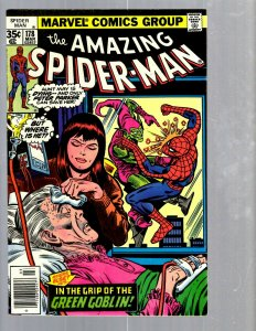 Amazing Spider-Man # 178 NM- Marvel Comic Book MJ Vulture Goblin Scorpion TJ1