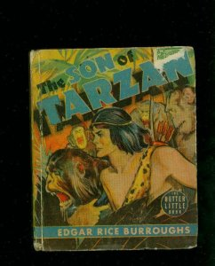 SON OF TARZAN-EDGAR RICE BURROUGHS-#1447-BIG LITTLE BOOKS-TARZAN-1939-vg VG