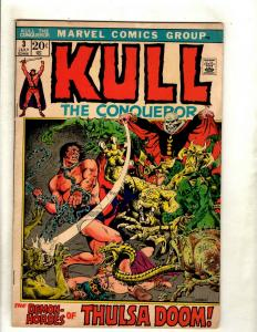 Lot Of 10 Kull The Conqueror Marvel Comic Books # 3 4 5 6 7 8 9 10 11 12 RS1