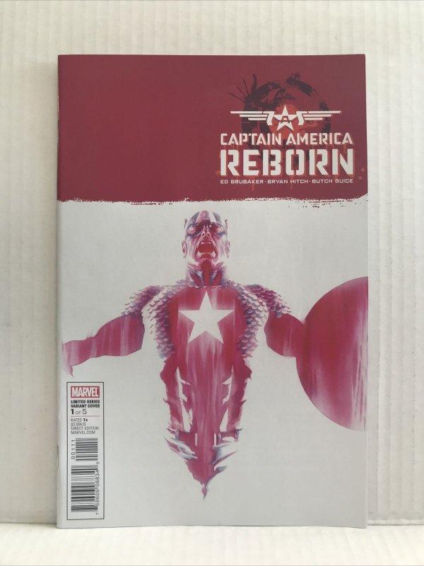 Captain America Reborn #1 Variant