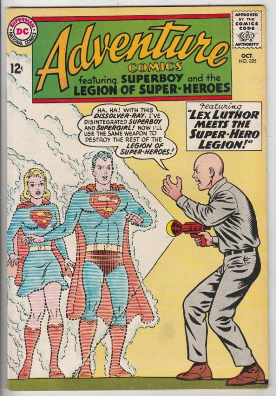 Adventure Comics #325 (Oct-64) NM- High-Grade Legion of Super-Heroes, Superboy