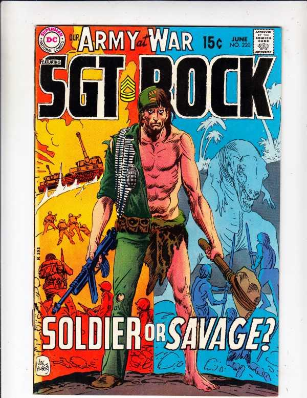 Our Army at War #220 (Jun-70) NM- High-Grade Easy Company, Sgt. Rock
