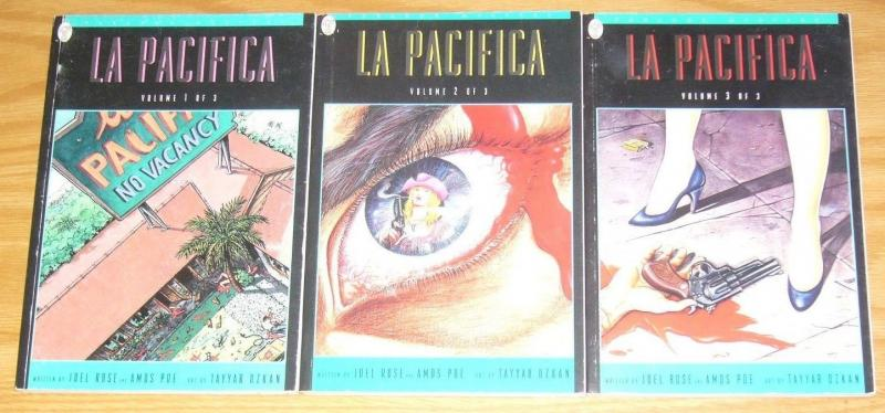 La Pacifica #1-3 VF/NM complete series - paradox mystery - set