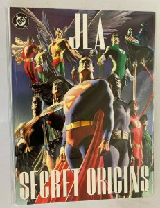 JLA Secret Origins #1 bagged and boarded price tag rear 6.0 FN 2002 DC Treasury