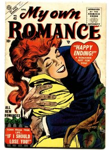 MY OWN ROMANCE #43 1955-ATLAS-Great COVER-Vince Colletta cover