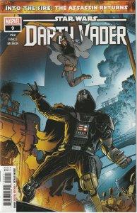 STAR WARS DARTH VADER # 9 (2021) MAIN COVER